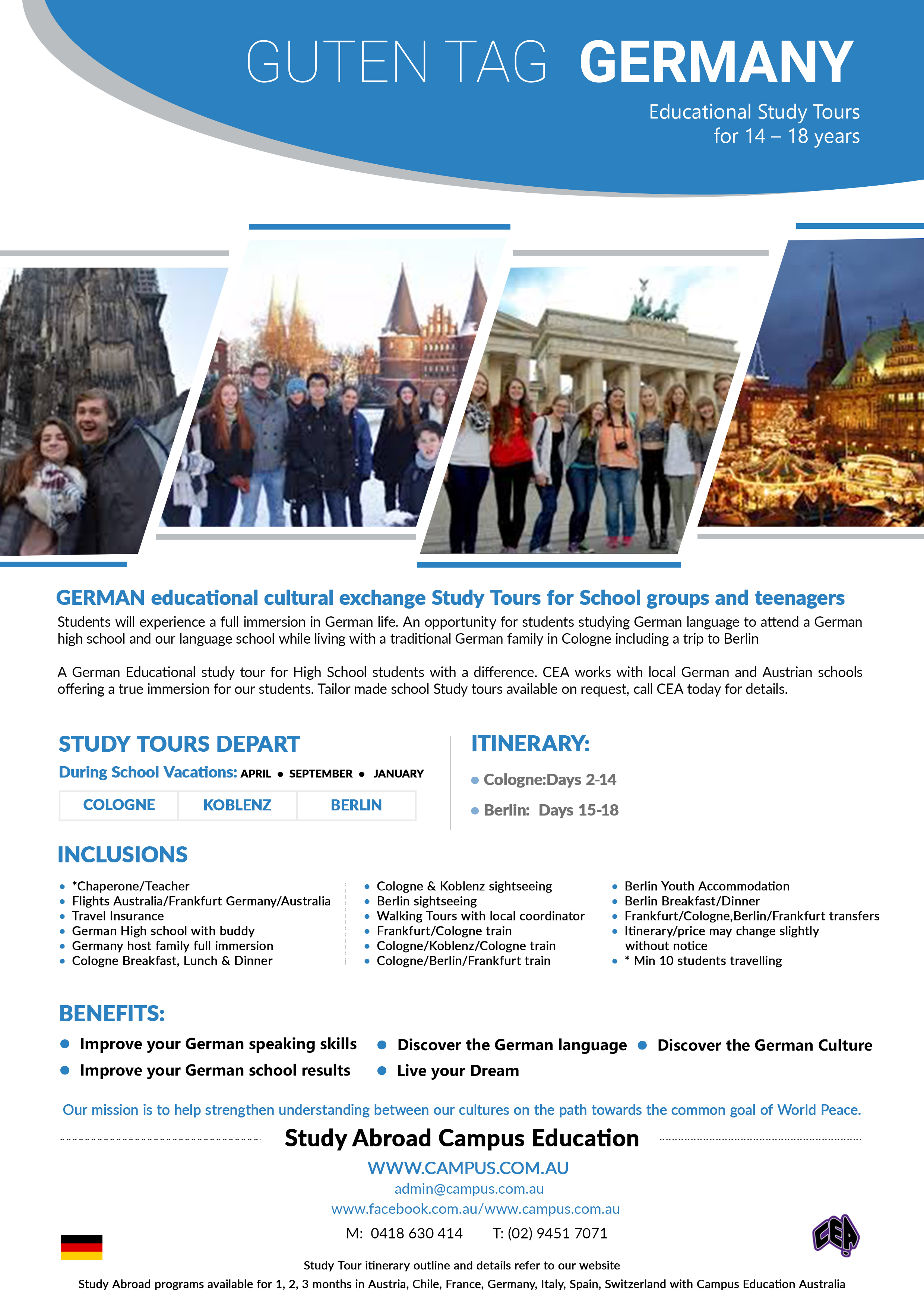 Study Abroad: Life in Germany | The German Healthcare ...